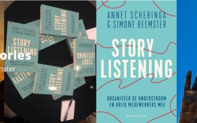 Boekpresentatie Storylistening
